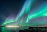 Iceland Sky Aurora Night