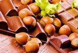 #Milk Chocolate and Hazelnuts