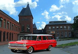 Red Chevy II Wagon