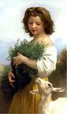 Little Esmeralda by William Bouguereau