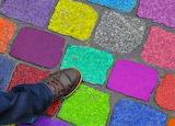 Colorful walkway