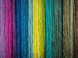 Fabric texture multicolored