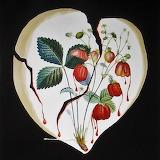 Strawberry Heart - Salvador Dali