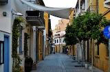 Old Nicosia Streets sunset Cyprus