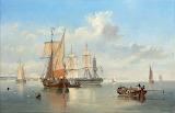 John Wilson Carmichael, Shipping ... Dutch coast, 1867