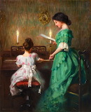 The Piano Lesson~ James Francis Day