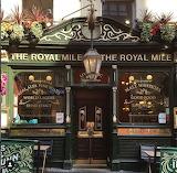Shop pub Edinburgh Scotland