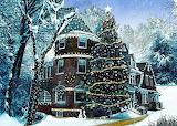 Snow scenes and Victorian