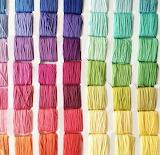 Color Rainbow string thread