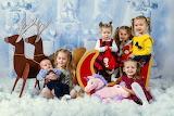 children, sleigh
