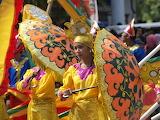 festival with umbrellas, Philippines