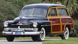 1950 Mercury Woody Wagon Car Auto Vehicle