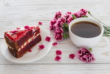 ^ Coffee Carnations Cakes