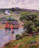 Dolain, Finistere by Henri Moret 1910