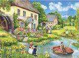 Waiting by the Water Wheel - Debbie Cook