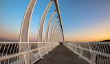 Walking Bridge in New Plymouth