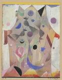 """Art tumblr campsis """"Persian Nightingales"""" 1917 """"Paul Klee"""""""