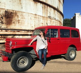Red Willys and Girl