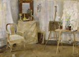 Maria Wiik, In the Atelier, circa 1880