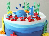 Blake's cake @ Rebecca Cakes & Bakes
