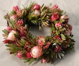 ^ Protea wreath