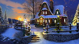 Winter-awesome-cottage-xmas-new-year-festivals-christmas-attract