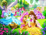 Princesses and Their Ponies