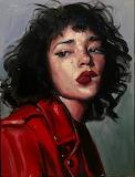 Tashi in Red by AJ Alper (Tashi Rodriguez)