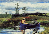 The Blue Boat 1892 Winslow Homer