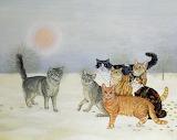 ^ Winter Cats - Ditz
