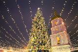 Christmas Tree Kyiv Ukraine