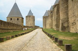 Inside Ramparts - Carcassonne