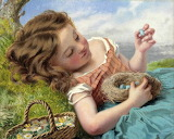 The Thrush's Nest, Sophie Anderson