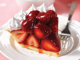 ^ Strawberry pie slice