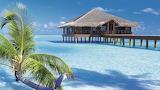 Beautiful beach villa paradise