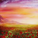 Poppy meadow, credit: annmariebone(dA)