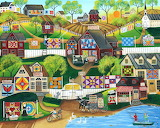 Quilts and barns village - Cherly Bartley