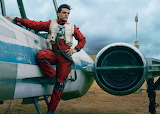 Oscar Isaac as Poe Dameron in Star Wars The Force Awakens
