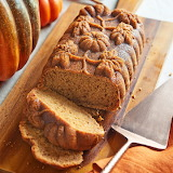 ^ Spiced Pumpkin Loaf