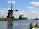 Mill in Kinderdijk the Netherlands
