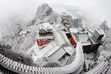 Wudang ancient building complex in the wudang mountains unesco w