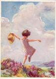 The Lightness of Joy (mine) ~ Margaret W. Tarrant