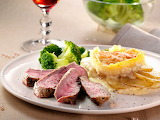 Boeuf chateaubriand gratin dauphinois