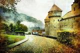 Château en automne-Paysage