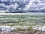Ostsee Wellen Wolken