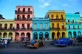 Havana Cuba cars and buildings
