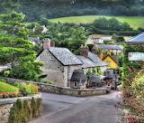 ^ Branscombe village, Devon, England