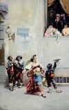 Dancing Children, after Giacomo Mantigazza Madeleine Moore