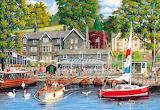 Summer in Ambleside by Derek Roberts...