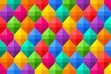 Colorful geometric designs
